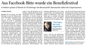 Salzburger Nachrichten - Charity Konzerte in Hallein