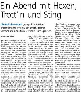 CD-Review Tennengauer Nachrichten